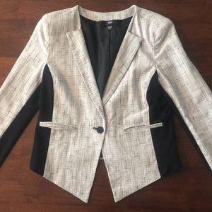 Black/Grey/Silver Blazer